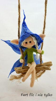 Elf :) www.polandhandmade.pl #polandhandmade #filc #fartfilc