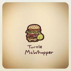 Cute Turtle Drawings, Baby Animal Drawings, Cool Drawings, Cute Turtles, Baby Turtles, Sheldon The Tiny Dinosaur, Tortoise Drawing, Kawaii Turtle, Turtle Love
