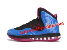 Nike Air Max Hyperposite Stoudemire Shoes Blue Pink fff43c3c3