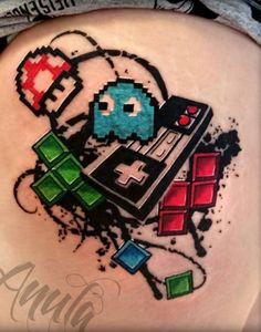 Nintendo tattoo