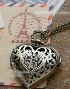 Montre Coeur  pocketwatch