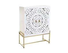 Luxury furniture in white and gold