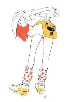 Pretty Art, Cute Art, Different Art Styles, Illustration Art Drawing, Fanart, Korean Art, Anime Artwork, Anime Art Girl, Aesthetic Art