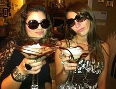 magic and big chocolate martini, 21th bday