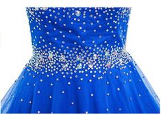 Snow Lotus Womens Sleeveless Beaded Diamonds and Knee Society Ball Gown --  Check this awesome c2929d2bb