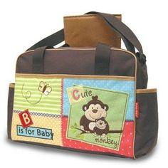 Fisher-Price Luv U Zoo Diaper Bag, Brown  #fisherpirice #diaper #bag