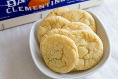 Clementine Sugar Cookies from the blog Sugar Crafter