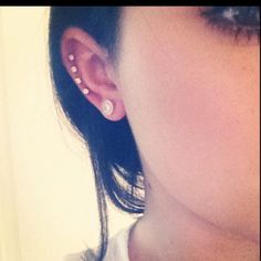 Ear piercings, Lobe, Cartilage, Piercings