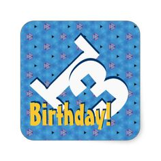 Get your hands on great customizable Milestone stickers from Zazzle. Choose from thousands of designs or make your own today! Guy Birthday, 13th Birthday, Teen Guy, White Gold, Blue And White, Gold Confetti, Make Your Own, Stickers, Party