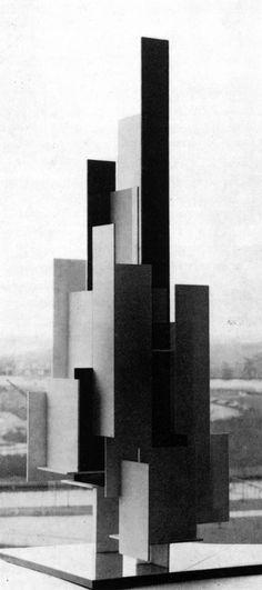 archiveofaffinities:  Joost Baljeu, Synthesist Construction f4, 1966