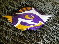 LSU Tiger Eye. $25.00, via Etsy.