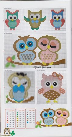 Thrilling Designing Your Own Cross Stitch Embroidery Patterns Ideas. Exhilarating Designing Your Own Cross Stitch Embroidery Patterns Ideas. Cross Stitch Owl, Cross Stitch Animals, Cross Stitch Charts, Cross Stitch Designs, Cross Stitching, Cross Stitch Embroidery, Free Cross Stitch Patterns, Free Pattern, Cross Patterns