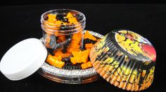 Halloween Cupcake Kit 2, Halloween Cupcakes, Halloween Sprinkles, Halloween Cupcake Liners, Halloween Party, Kids Parties