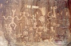Petroglyphs at Chaco Cultutre National Historic Park, Arizona | 10 Best US National Parks For Your World Travel Bucket List www.greenglobaltravel.com