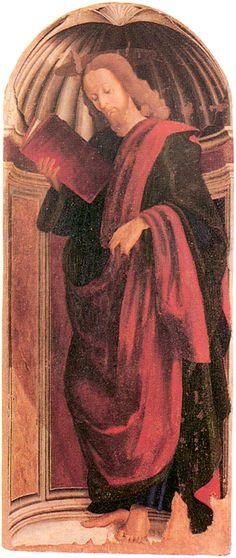 Giovanni Santi - Apostolo - Urbino - Palazzo Ducale - Galleria Nazionale delle Marche
