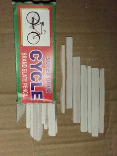 Stationary White Pencil Chalk Premium Quality Natural Stone 20 Slate Pencils Eat Edible