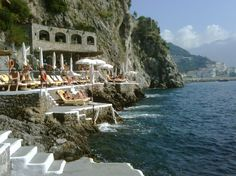 Hotel Santa Caterina on the Almalfi Coast. By far the best place I have ever stayed.