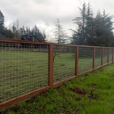 Welded Mesh Stair/Fence Rail Panels by Wild Hog Railing - DecksDirect fence Mesh Stair/Fence Panels by Wild Hog ft-Textured Black Hog Wire Fence, Farm Fence, Diy Fence, Fence Landscaping, Backyard Fences, Fence Gate, Fence Panels, Garden Fencing, Welded Wire Fence