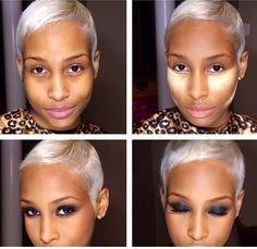 Makeup Tutorials for Dark Skin on Pinterest Dark Skin ...