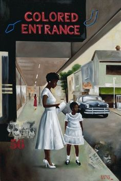 """""""Different Now?"""" Created by African American artist Gerhardt"""