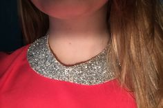 Inside Out Full Sparkle Peter Pan Collar