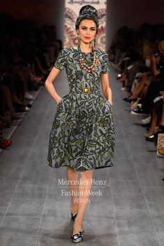 Mercedes-Benz Fashion Week Berlin – Focus On Fashion LENA HOSCHEK S/S 2015