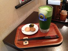 99-Year-Old Tea Shop Offers Something New: Green TeaBeer ~ I want to try this!