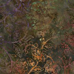 Timeless Treasures TONGA BRONZE 100/% Cotton Premium Batik Fabric-per 1//2 Yard