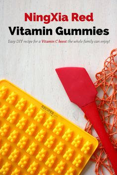 NingXia Red Vitamin Gummies - Recipes with Essential Oils Yl Essential Oils, Young Living Essential Oils, Yl Oils, Vitamin C Gummies, Ningxia Red, Young Living Oils, Gummy Bears, Easy Diy, Vitamins