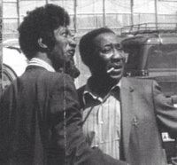 Hound Dog Taylor and Muddy Waters.
