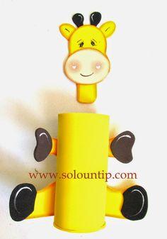Manualidades por día del niño en goma eva ~ Solountip.com Fun Crafts, Diy And Crafts, Crafts For Kids, Arts And Crafts, Child Day, Disney Crafts, School Projects, Safari, Baby Shower