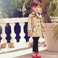 This outfit/ haircut/ child is unreal, and ma petite fleur needs these digs. New collection sneak peek! Be the first to shop our newest collections online now. In stores soon. #chic #kidsclothing