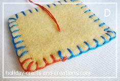 How To Do Blanket Stitch - tutorial