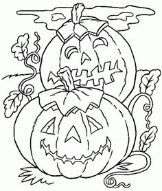 Halloween Pumpkin Coloring Pages 1000 Free Printable For Kids