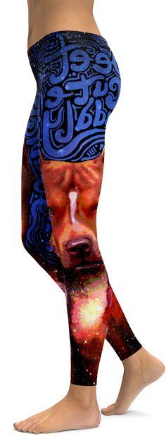 Blue Pit Bull Leggings