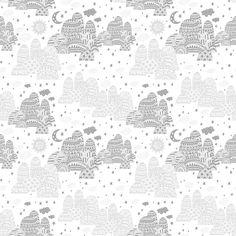 Night and Day - Grey - Wall Mural & Photo Wallpaper - Photowall