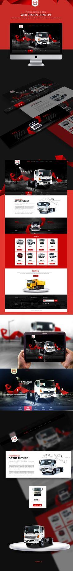Hino Trucks on Behance