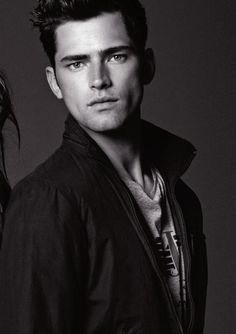 Sean O'Pry for Armani jeans