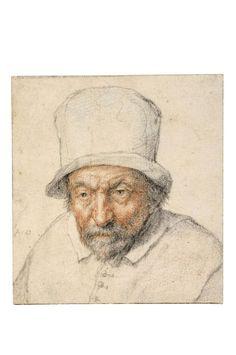 Adriaen van Ostade, Study of the head of an old man
