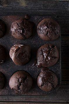 Schokoladenmuffins - einfach wunderbar #schokolad #muffins #rezepte