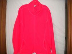 Old Navy Size XXL Eternal Flame Zipper Front Fleece Womens Jacket Sweatshirt #OldNavy #Fleece #Versatile