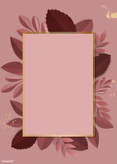 Pink Glitter Background, Flower Background Wallpaper, Framed Wallpaper, Flower Backgrounds, Pink Wallpaper, Social Media Art, Whatsapp Wallpaper, Image Paper, Frame Template