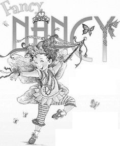 FancyNancyColoringPages Fancy Nancy Tea Party is to decide on