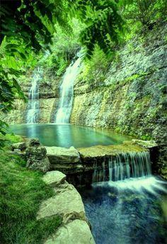 Dogwood Canyon, Branson, MO  Dogwood Canyon Nature Park stretches across the…