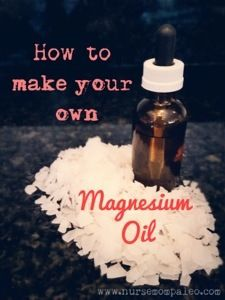 How to make your own magnesium oil. Supplementing transdermally is much better absorbed than orally.