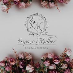 Espaço Mulher in 2019 Beauty Salon Logo, Beauty Salon Decor, Beauty Salon Interior, Schönheitssalon Logo, Logo Studio, Eyelash Logo, Nail Salon Decor, Makeup Artist Logo, Visiting Card Design
