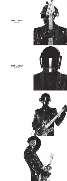 DAFT PUNK x Y SAINT LAURENT