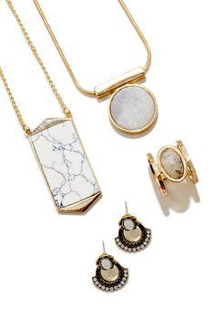 Stone jewelry | Sole Society Spring 2016 Catalog