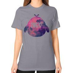 Space Peep Unisex T-Shirt (on woman)