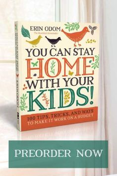 how to stay home with your kids #sahm #homemaking #bookreviews